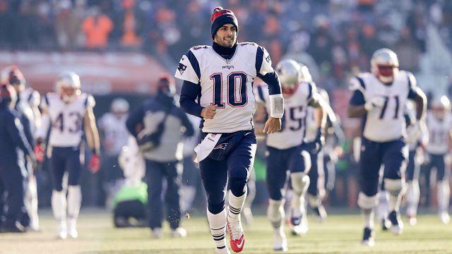 New England Patriots quarterback Jimmy Garoppolo