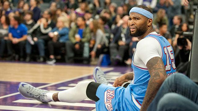 Sacramento Kings center DeMarcus Cousins