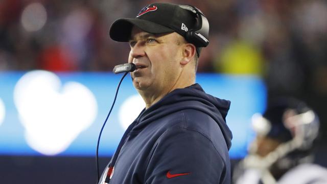 Houston Texans head coach Bill O'Brien