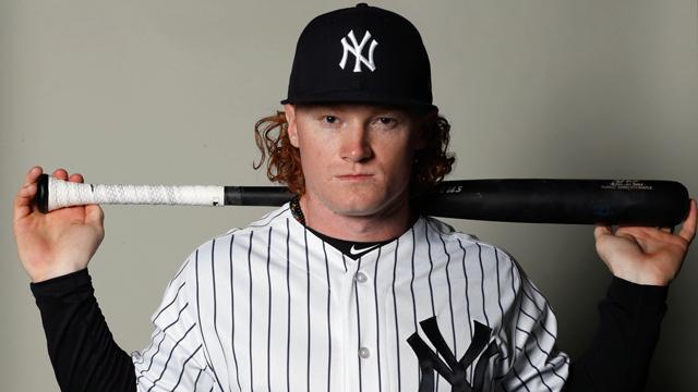 New York Yankees center fielder Clint Frazier