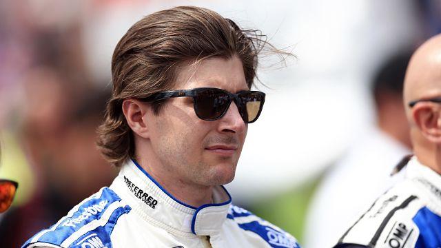 IndyCar driver J.D. Hildebrand