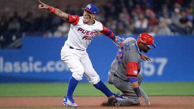 Puerto Rico shortstop Javier Baez