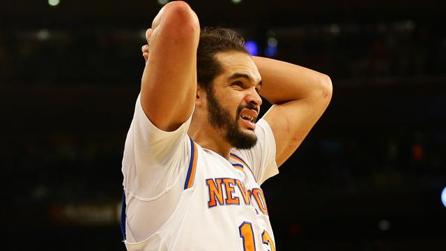 Knicks center Joakim Noah