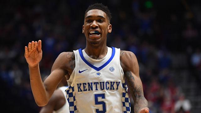 Kentucky Wildcats guard Malik Monk