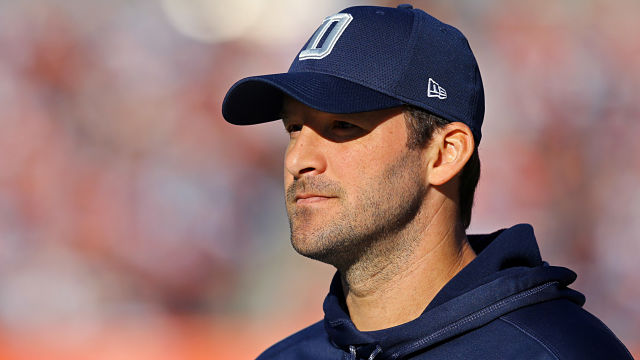 NFL quarterback Tony Romo