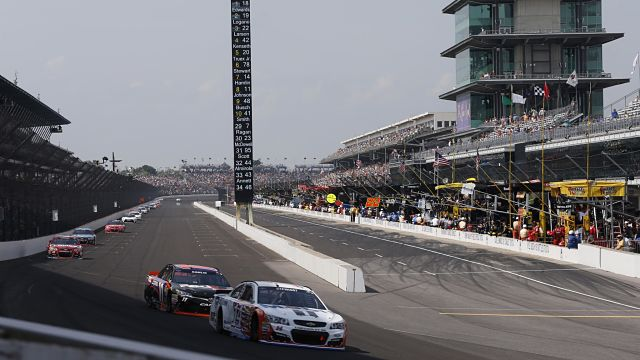 NASCAR: Crown Royal presents the Combat Wounded Coalition 400 at the Brickyard