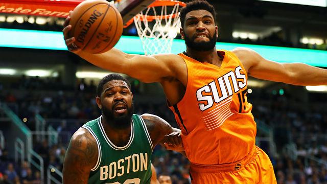 Boston Celtics forward Amir Johnson