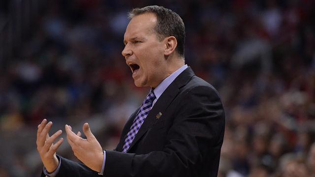 Northwestern head coach Chris Collins