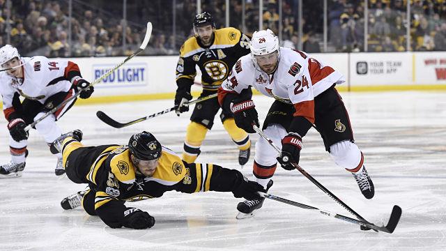 Bruins defensman Adam McQuaid
