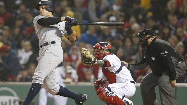 Yankees outfielder Aaron Judge