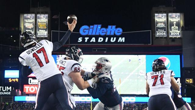 Houston Texans quarterback Brock Osweiler
