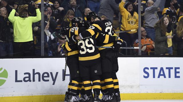 Boston Bruins left wing Matt Beleskey