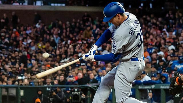 Los Angeles Dodgers outfielder Cody Bellinger
