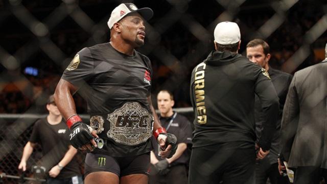 Daniel Cormier, UFC light heavyweight champion