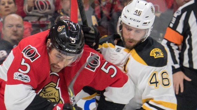 Bruins Senators Game 5
