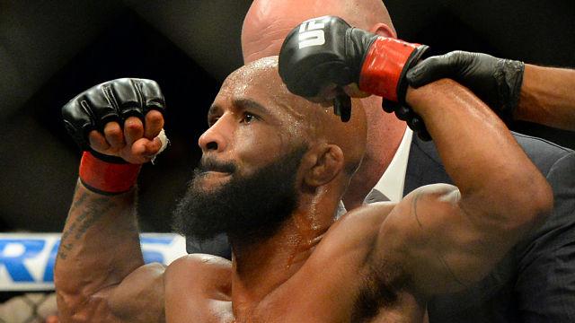 UFC fighter Demetrious Johnson