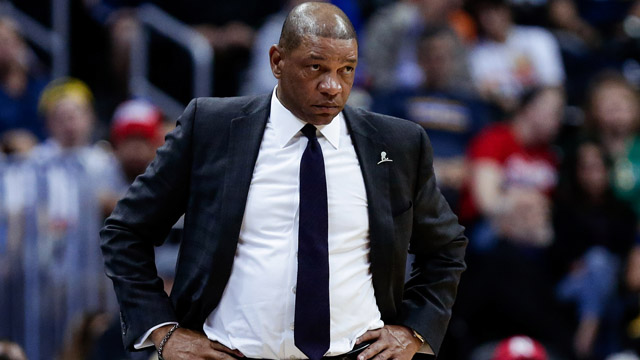 Clippers head coach Doc Rivers