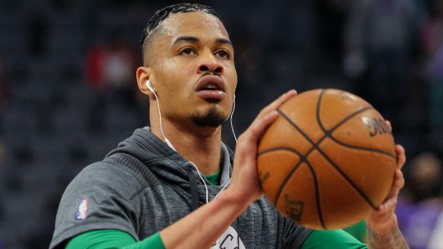 Boston Celtics forward Gerald Green