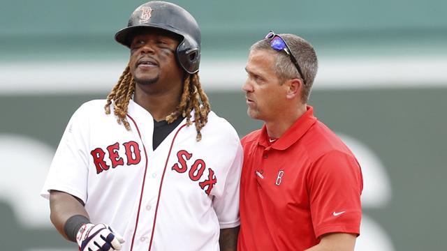 Red Sox designated hitter Hanley Ramirez