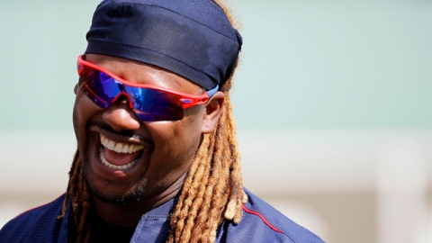 Boston Red Sox designated hitter Hanley Ramirez