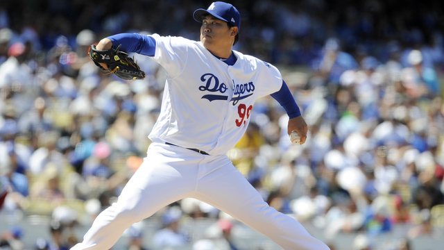 Dodgers pitcher Hyun-Jin Ryu