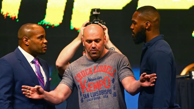 Daniel Cormier Jon Jones weigh-in