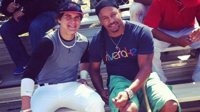 Boston Red Sox third base prospect Michael Chavis
