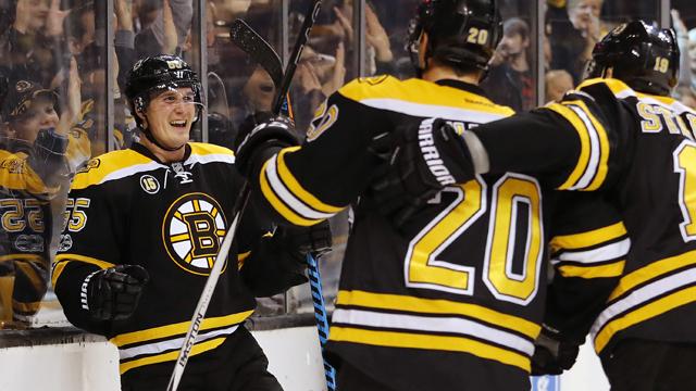 Boston Bruins center Noel Acciari