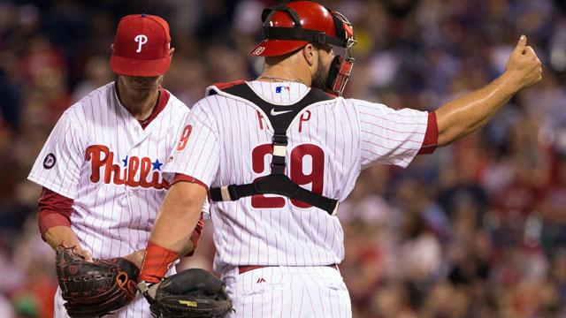 Philadelphia Phillies starting pitcher Clay Buchholz