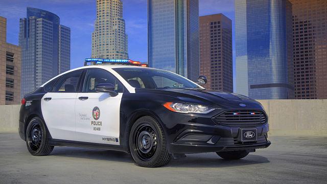 Ford hybrid police responder