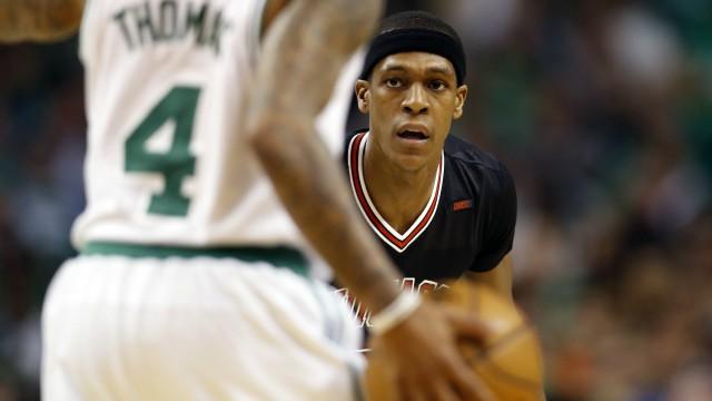 Chicago Bulls guard Rajon Rondo