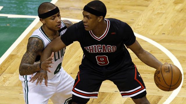 Chicago Bulls point guard Rajon Rondo