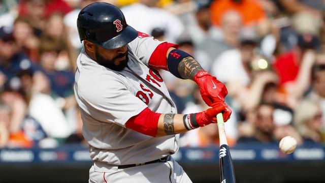 Red Sox catcher Sandy Leon