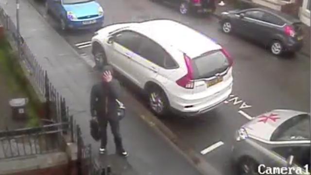 Dashcam thief