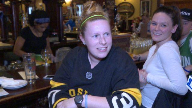 Bruins Fans Walpole, Mass.