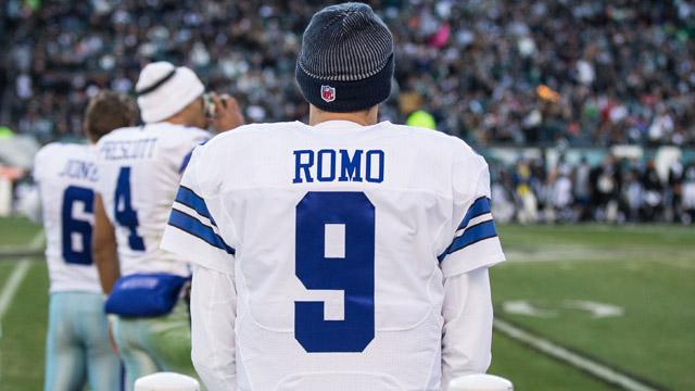 Cowboys quarterback Tony Romo