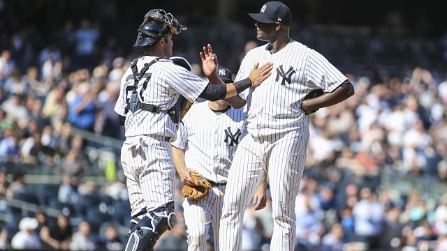 New York Yankees pitcher Michael Pineda