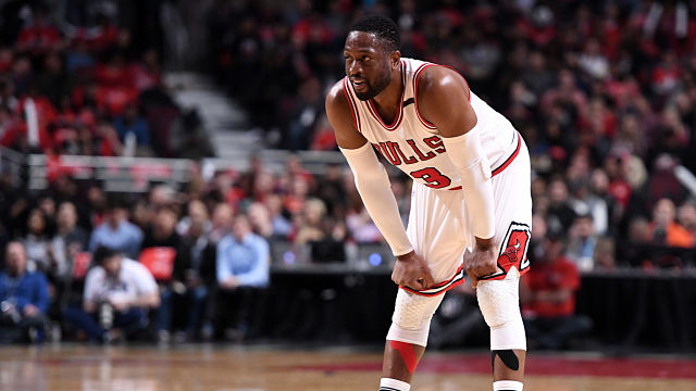 Chicago Bulls guard Dwyane Wade