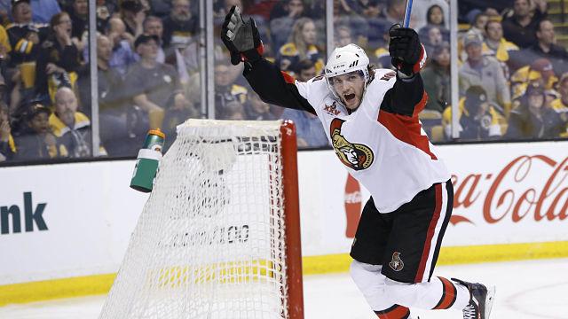 Ottawa Senators winger Bobby Ryan