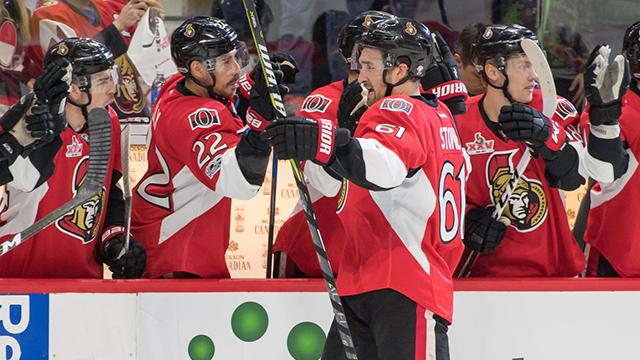 Ottawa Senators right wing Mark Stone