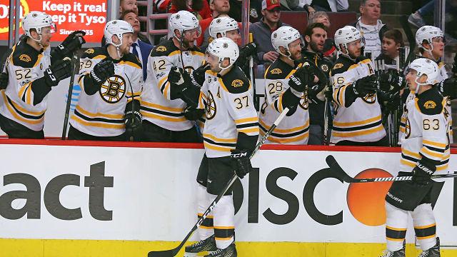Boston Bruins Patrice Bergeron