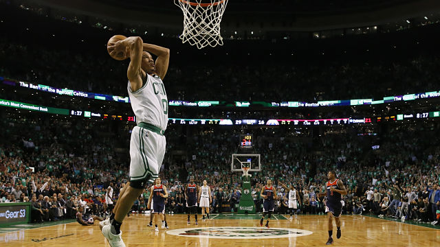 Boston Celtics guard Avery Bradley