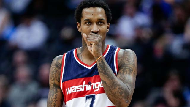 Wizards guard Brandon Jennings