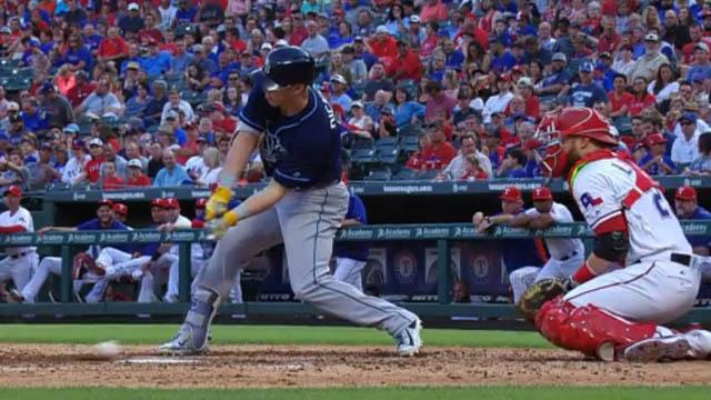 Rays batter Corey Dickerson