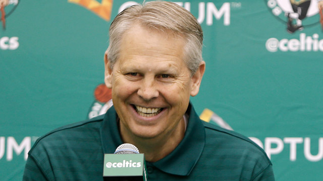 President of basketball operations Danny Ainge