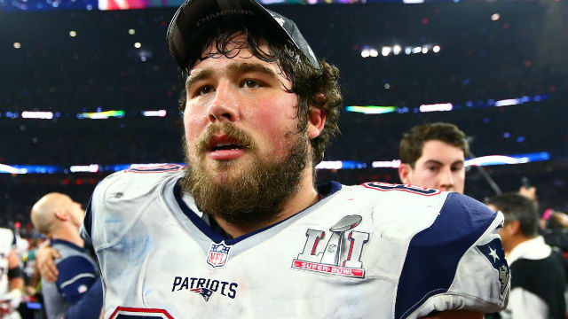 New England Patriots center David Andrews