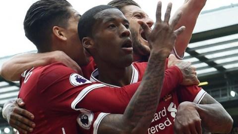 Liverpool forward Georginio Wijnaldum