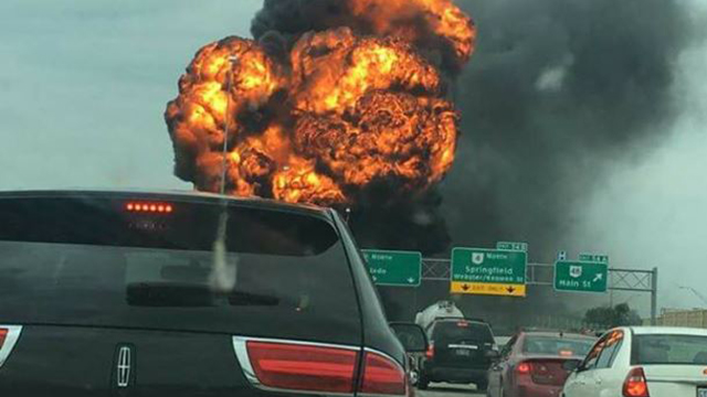 I-75 explosion