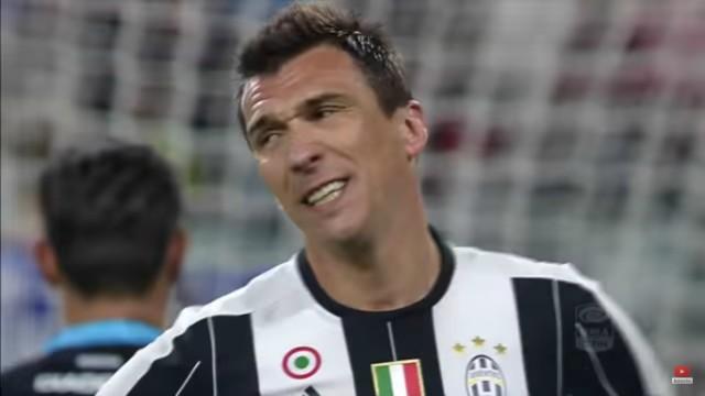 Juventus' Mario Mandzukic