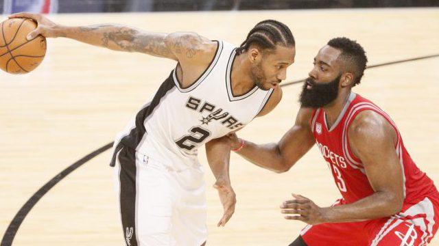 Rockets vs Spurs Game 1